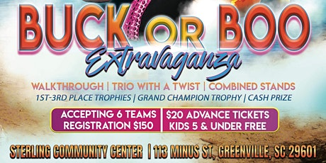 Buck Or Boo Extravaganza Dance Competition tickets