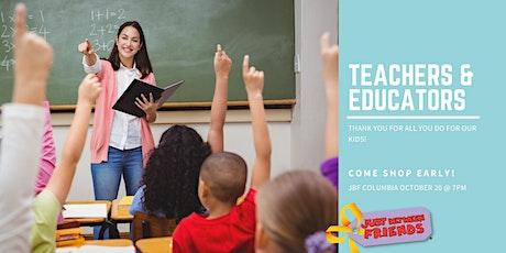 JBF Teacher/Educator Presale tickets
