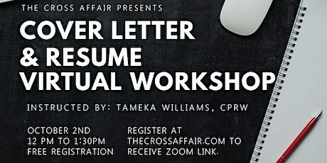 Cover Letter & Resume Workshop tickets