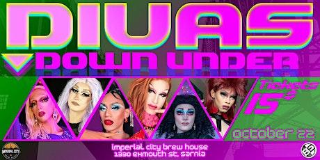 Divas Down Under tickets