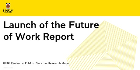 Launch of the Future of Work Report tickets