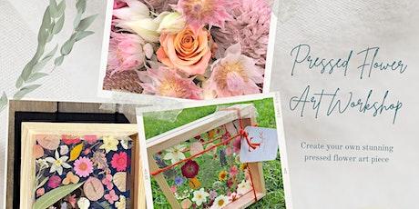 Pressed Flower Art Workshop tickets