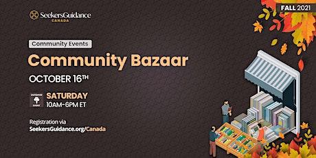 SeekersGuidance Community Bazaar tickets