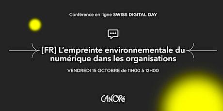 (FR) L'empreinte environnementale du numérique dans les organisations. billets