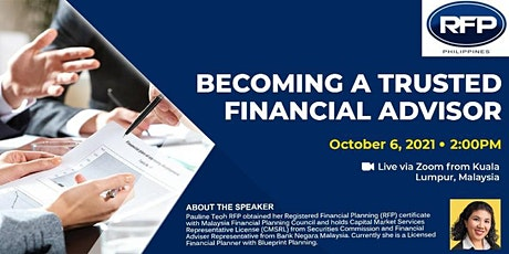 Becoming A Trusted Financial Advisor tickets
