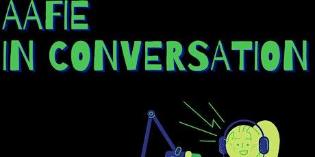 AAFIE in Conversation Q & A ft. Professor Julian Sefton Green & Taryn Marks tickets