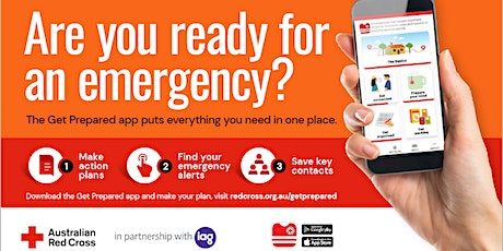 Are you ready for an emergency? – A workshop with the Australian Red Cross tickets