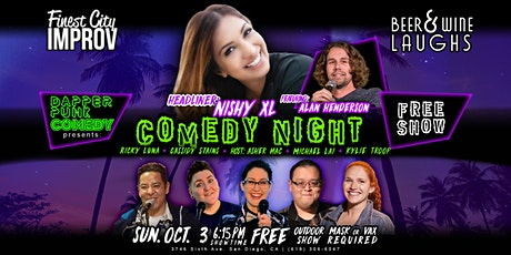 Stand Up Comedy Show with Headliner Nishy XL, Featuring Alan Henderson tickets