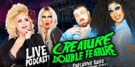 LIVE PODCAST CREATURE DOUBLE FEATURE - Very That & Sloppy Seconds tickets
