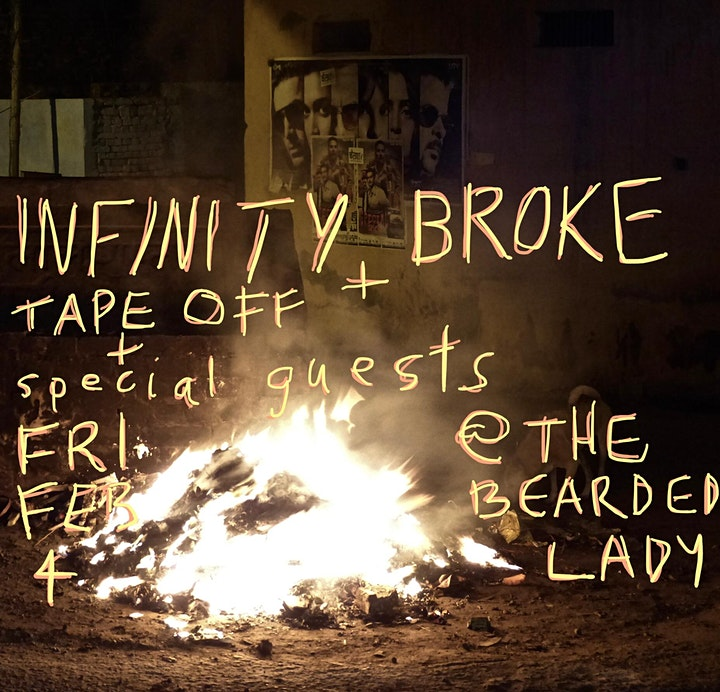 Infinity Broke Album Launch image