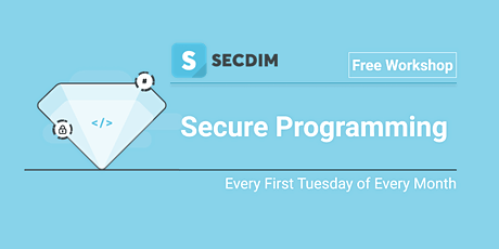 Secure Programming Workshop tickets