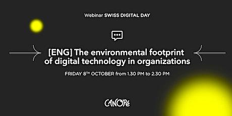 (ENG) The environmental footprint of digital technology in organizations. tickets