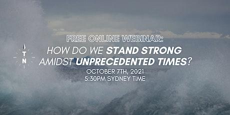 [FREE WEBINAR] Navigating Turbulent Times - The True North Program tickets