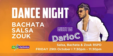 Salsa, Bachata and Zouk Dance Night I RSPD tickets