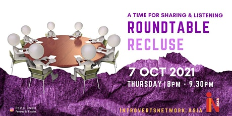 """Roundtable Recluse: """"FOPO - Fear Of People's Opinions"""" tickets"""