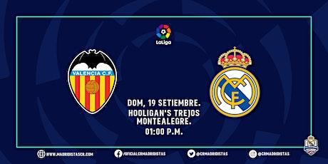 VALENCIA VS REAL MADRID boletos