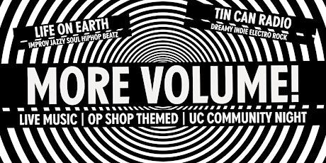 More Volume! tickets