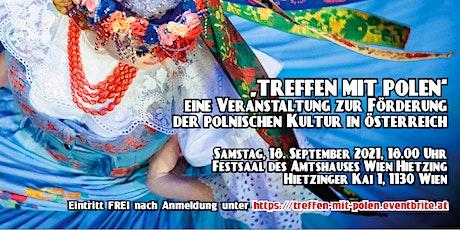 TREFFEN MIT POLEN  - eine Veranstaltung zur Förderung der polnischen Kultur Tickets