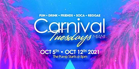 Carnival Tuesdays - Miami Carnival Last Pump tickets