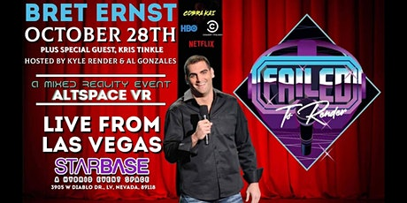 Failed To Render Comedy Show w/Headliner Bret Ernst featuring Kris Tinkle tickets