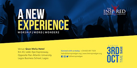 A New Experience tickets