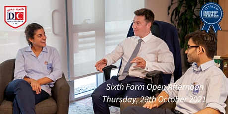 Dubai College Sixth Form Open Afternoon 2021 tickets