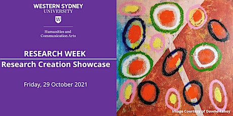Research Creation Showcase 2021 tickets