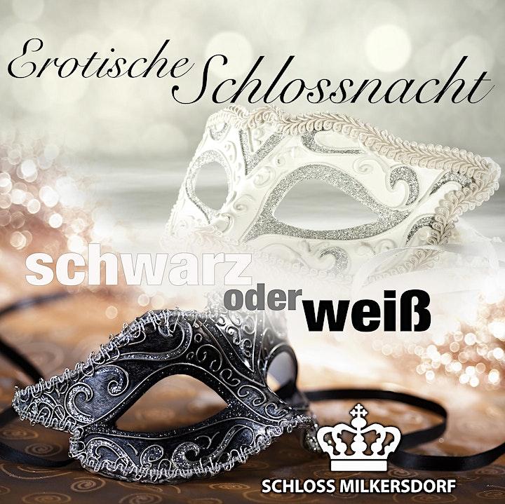 EROTISCHE SCHLOSSNACHT - schwarz oder weiß: Bild
