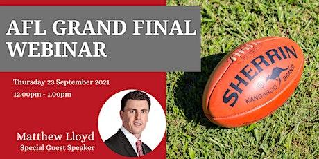 Lunch n Learn - AFL Grand Final Webinar tickets