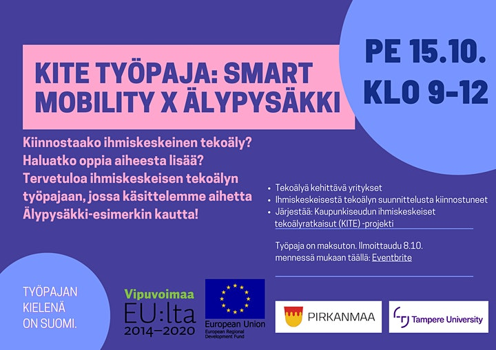 KITE workshop: Smart Mobility X Älypysäkki image
