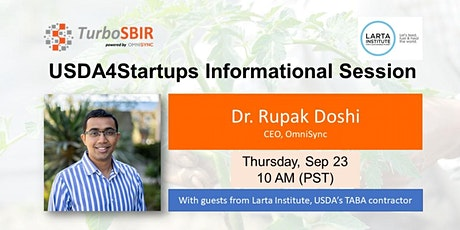 USDA4Startups Informational Session tickets