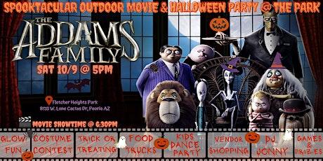 FREE Spooktacular Outdoor Peoria Movie, Halloween tickets