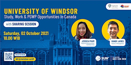 University of Windsor: Study, Work, and PGWP Opportunities in Canada tickets