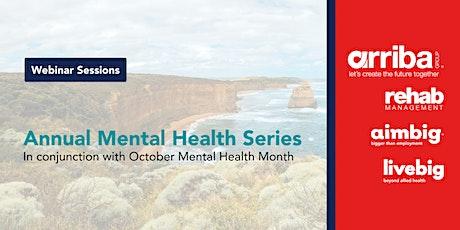 Annual Mental Health Series tickets