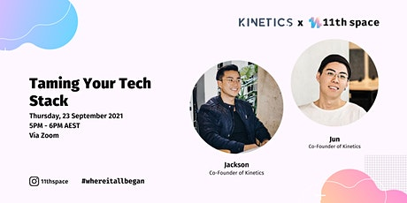 11th Talks Ep. 11: Taming Your Tech Stack tickets