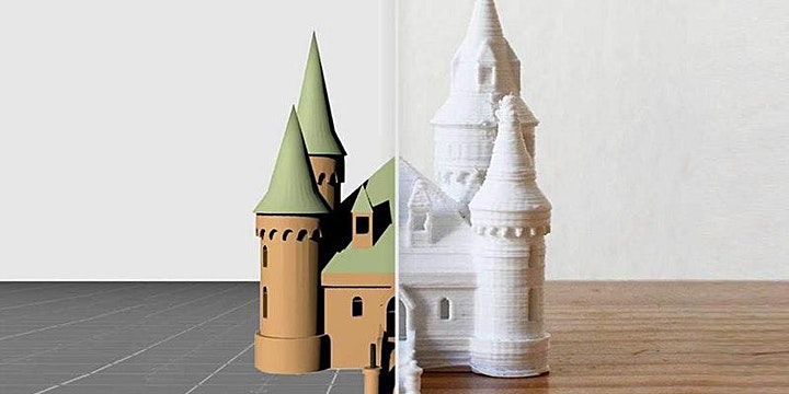 FabLabKids: 3D-Druck - Burgen, Schlösser und Festungen (8-14 Jahre): Bild