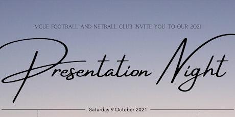 MCUE Presentation Night 2021 tickets