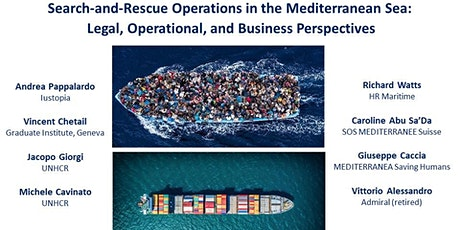 SAR in the Mediterranean sea: legal, operational and business perspectives tickets