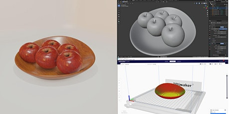 3D modelling with Blender for the fine artist and maker tickets