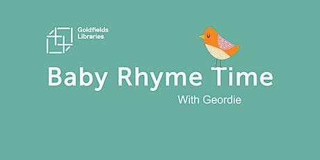 Rhyme Time Online - Bendigo tickets