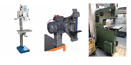 Drill Press, Linishers, Vertical Bandsaw Induction (HSBNE Members Only) tickets