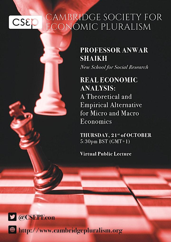 Anwar Shaikh: Real Economic Analysis image