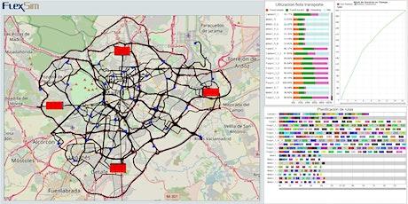 Webinar FlexSim Simulación. Módulo GIS - Sistema de Información Geográfica ingressos