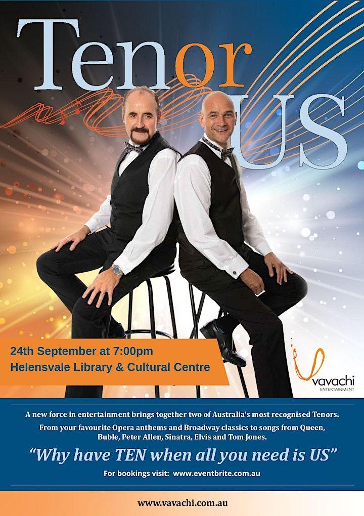TenorUS in Concert in Encore 2 - Gold Coast show image