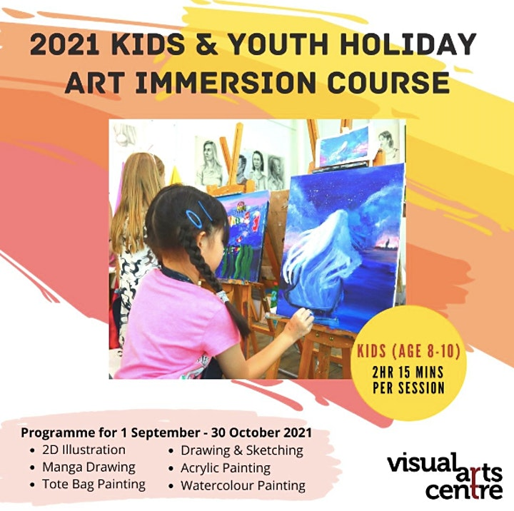 Holiday Art Immersion Course for Kids ages 8 to 10 (8 Sessions) image