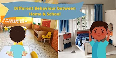 Different Behaviour Between Home and School tickets