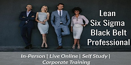 01/18 Lean Six Sigma Black Belt Certification in Vancouver tickets