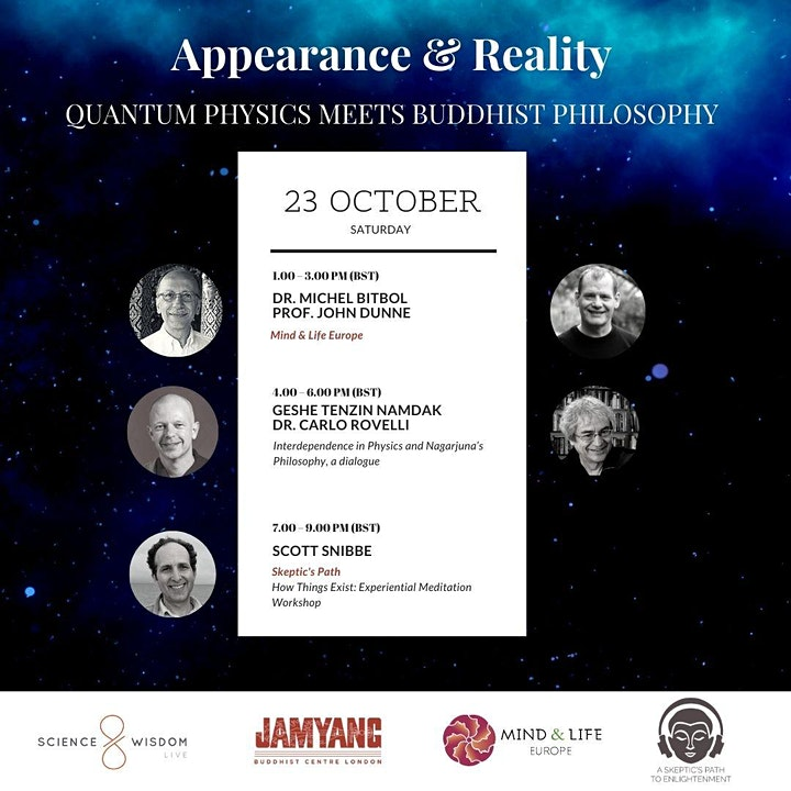 Appearance & Reality: Quantum Physics meets Buddhist Philosophy image