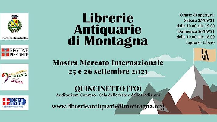 Immagine Mostra Mercato Librerie Antiquarie di Montagna
