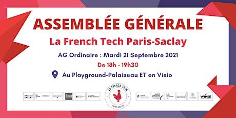 Assemblée Générale Ordinaire de La French Tech Paris-Saclay billets